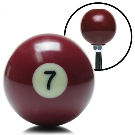 7 ball billiard pool custom shift knob sbc modified parts drag race circle (Circle Track Parts)