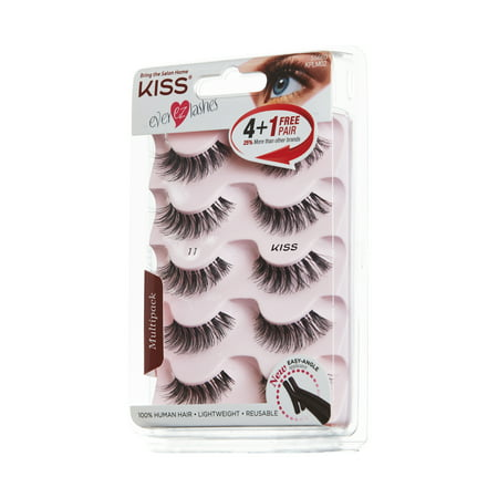 KISS Ever EZ™ Lashes - Multipack 01 (Kiss And Makeup 01 Halloween)