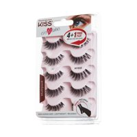84825991a96 Product Image KISS Ever EZ™ Lashes - Multipack 01