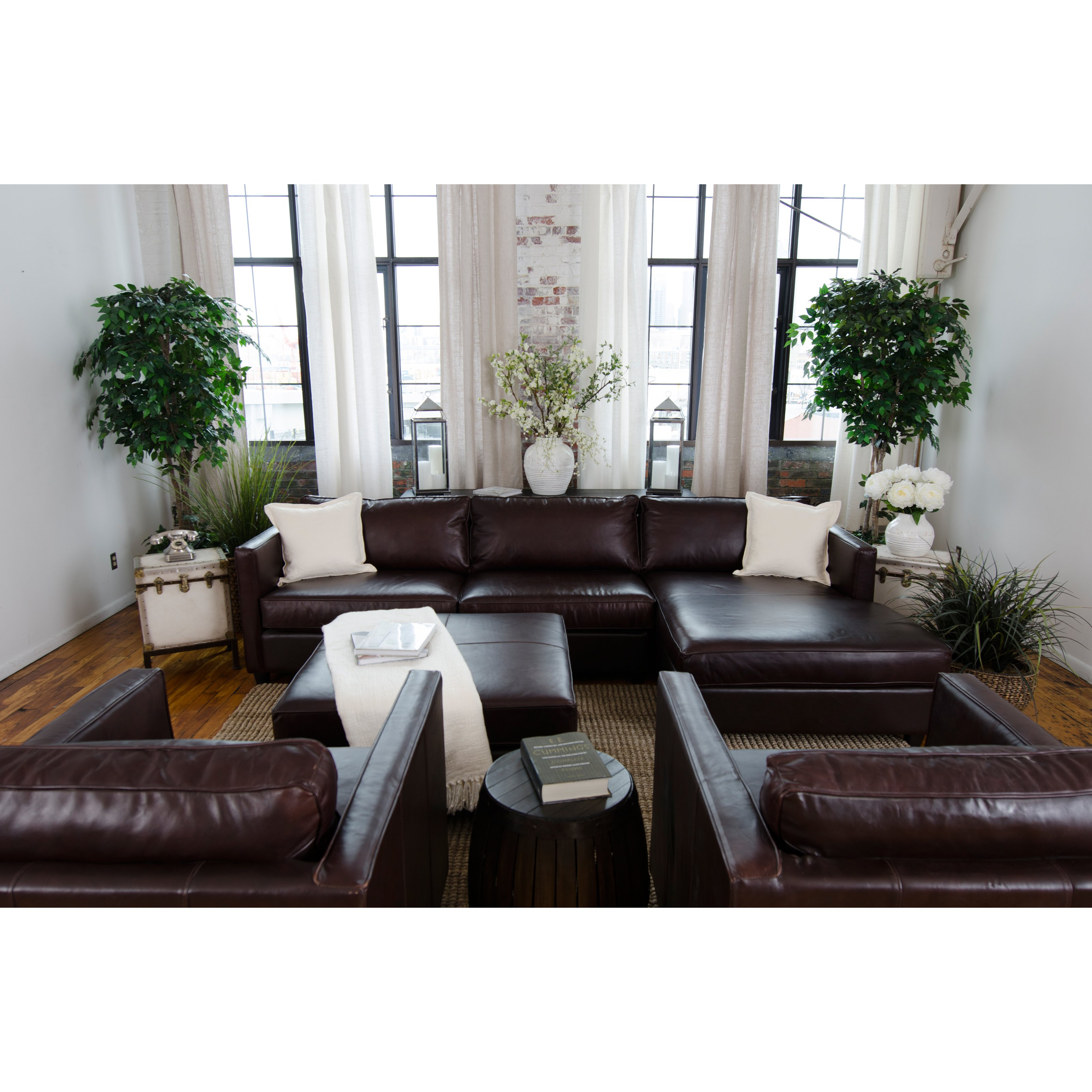 5-Pc Upholstered Sectional Set