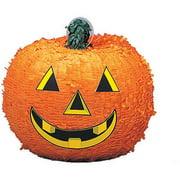 Pumpkin Halloween Pinata, Orange, 12.5 x 11in