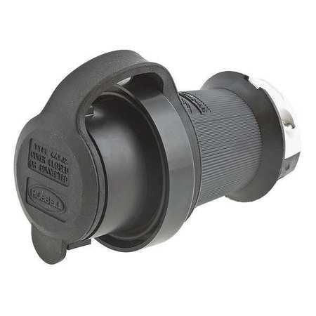 Hubbell WIRING DEVICE-KELLEMS Plug,277VAC,20A,L7-20P,2P,3...