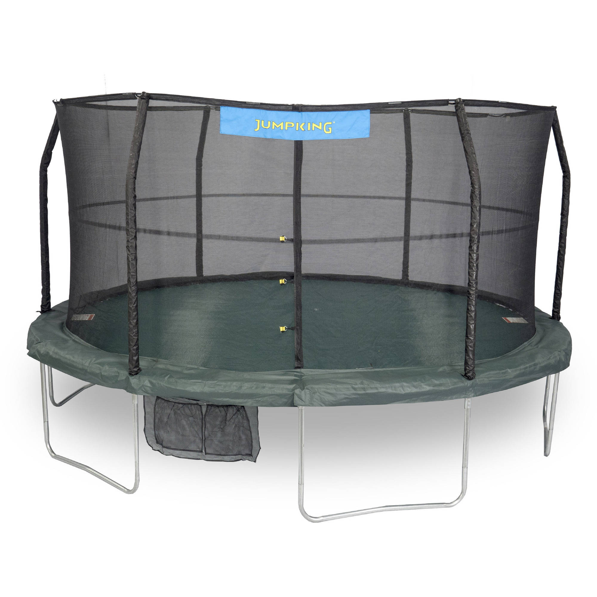 Jumpking 14-Foot Trampoline, with Safety Enclosure, Green (Box 1 of 2)