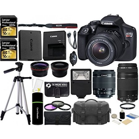 Canon EOS Rebel T6 18MP Wi-Fi DSLR Camera with 18-55mm IS