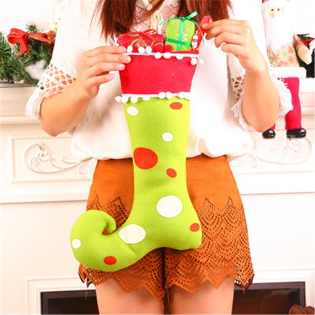 Christmas Gift Bag Elves Elk Xmas Decoration Ornament Sock Decors](Elf Door Decoration)