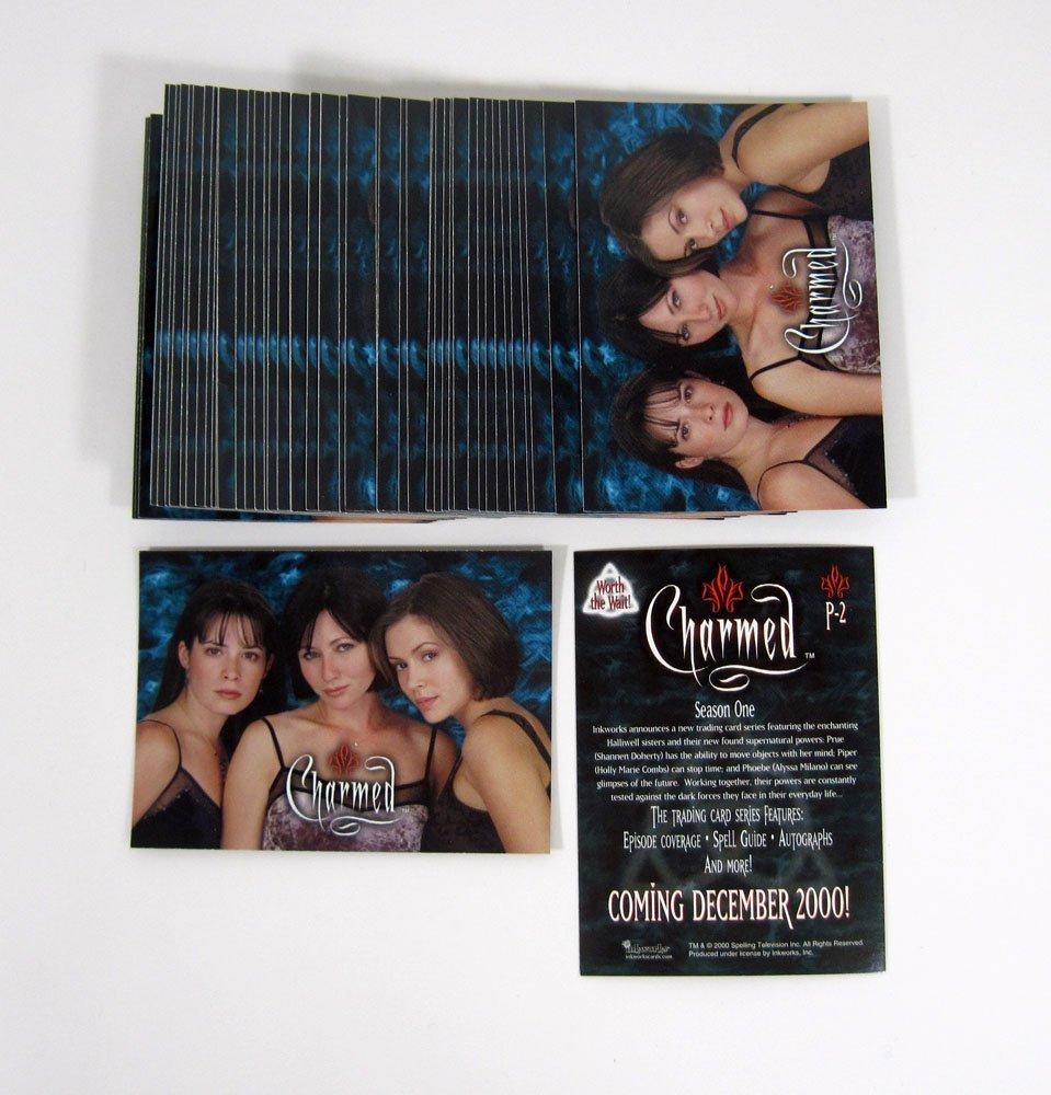 CHARMED SEASON ONE PROMOTIONAL CARD P-0 with tm logo
