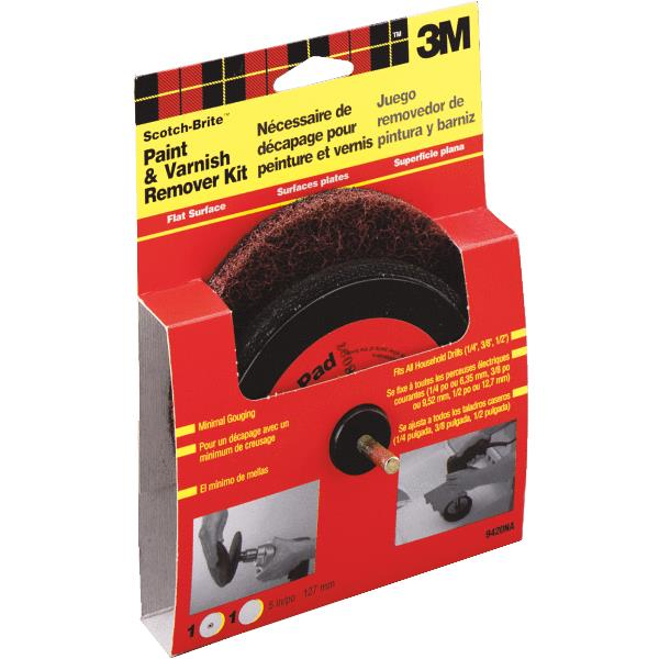 3M Scotch-Brite Varnish and Paint Removal Disc Kit