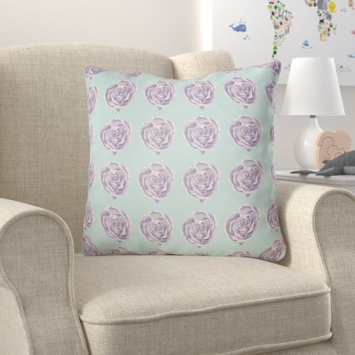 Zoomie Kids Cassidy Floral Throw Pillow