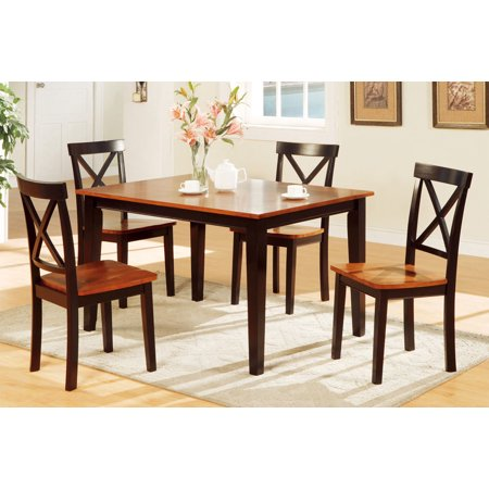Dining Room Furniture 5pc Dining Set Simple Small Kitchen ...