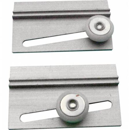 Prime-Line M 6055 Shower Door Top Roller, Nylon Ball Bearing,(Pack of 2)