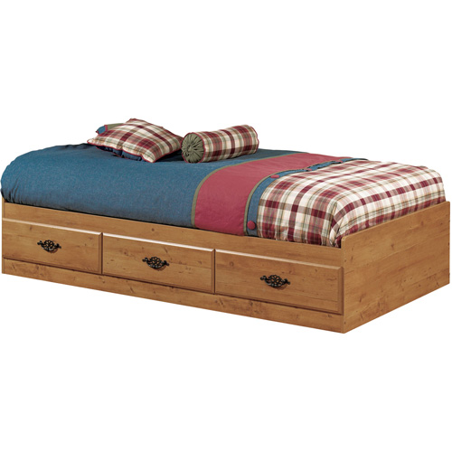 South Shore Prairie Mates Bed, Pine Twin Mates Bed