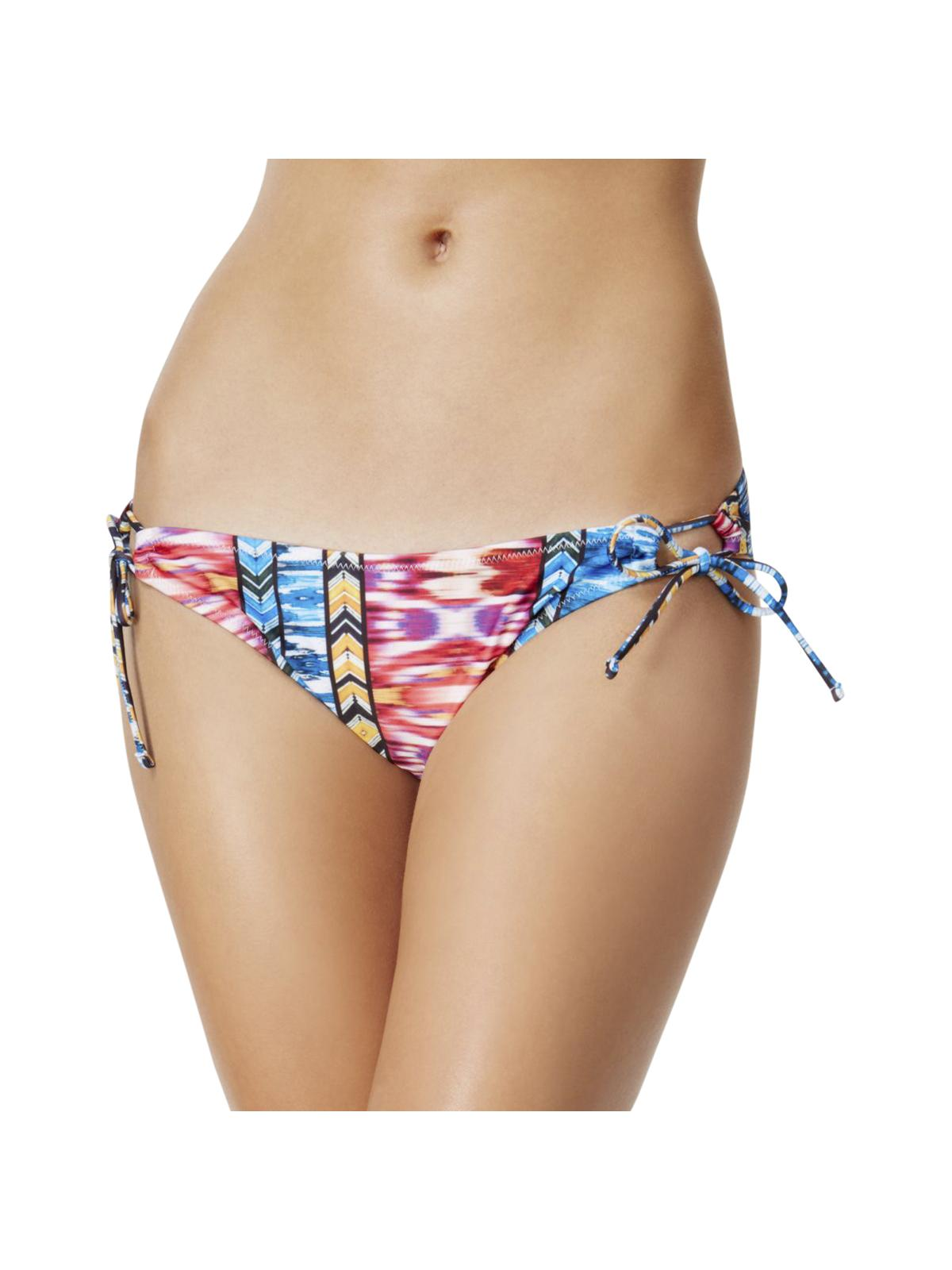 Raisins Womens Around the World Tribal-Print Low-Rise Swim Bottom Separates