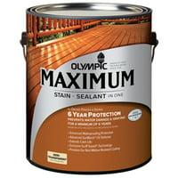 Olympic 79561A-01 Gallon Cedar Maximum Deck, Fence & Siding Stain