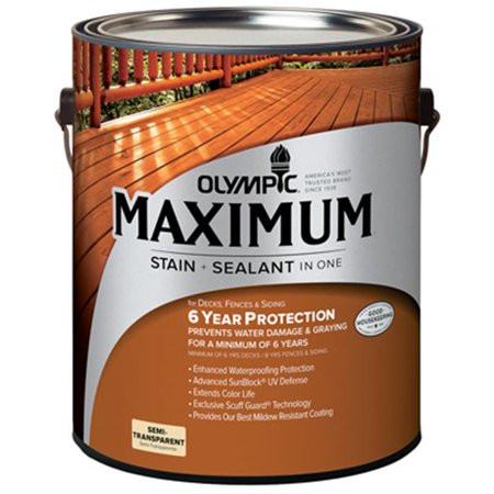 Olympic 79561A-01 Gallon Cedar Maximum Deck, Fence & Siding