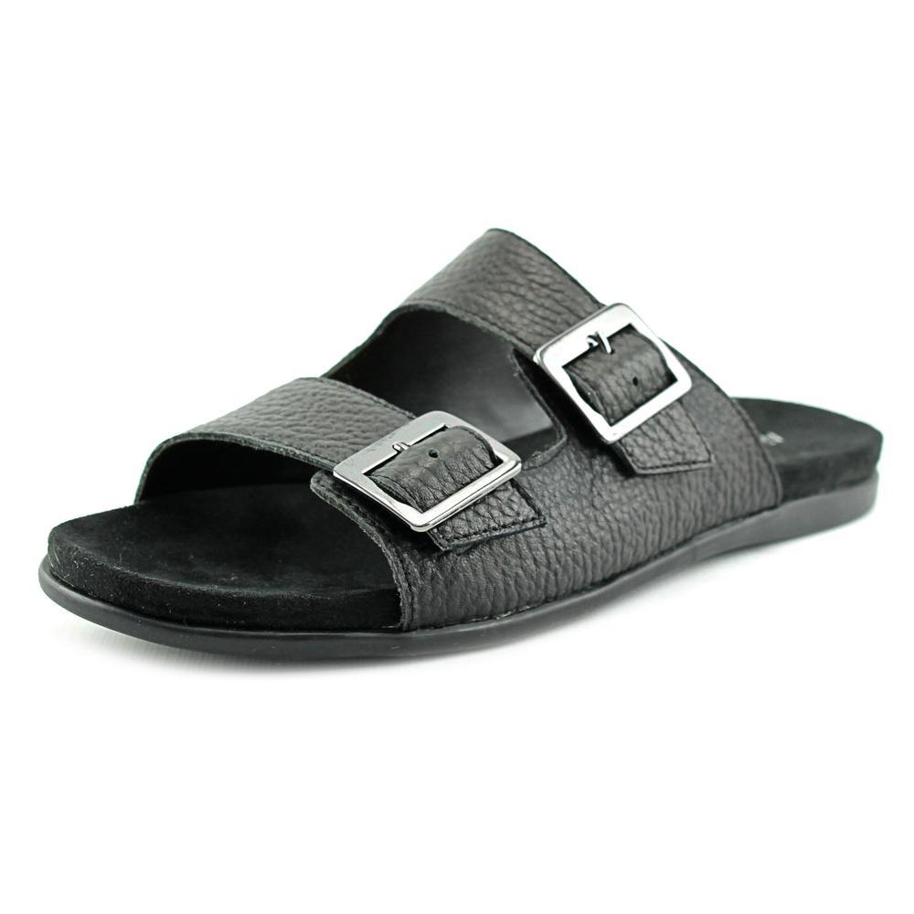 Aerosoles Disco Music Women Open Toe Leather Slides Sandal by Aerosoles