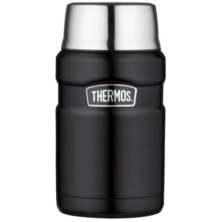 Thermos Stainless King 24 Ounce Food Jar, Matte Black Thermos Stainless King 24 Ounce Food Jar, Matte Black
