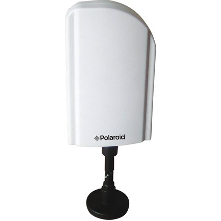 Broadcast Quality 60 Minute Video - Polaroid 55 Mile Indoor/Outdoor HDTV Amplified Antenna - Receives Free HDTV Broadcast Channels, 55 Mile Reception, Enhanced Quality & Sound - PLAIA1350P