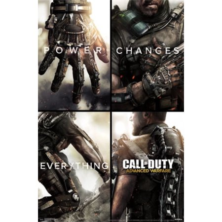 Call Of Duty   Advanced Warfare   Power Changes Everything Poster Poster Print