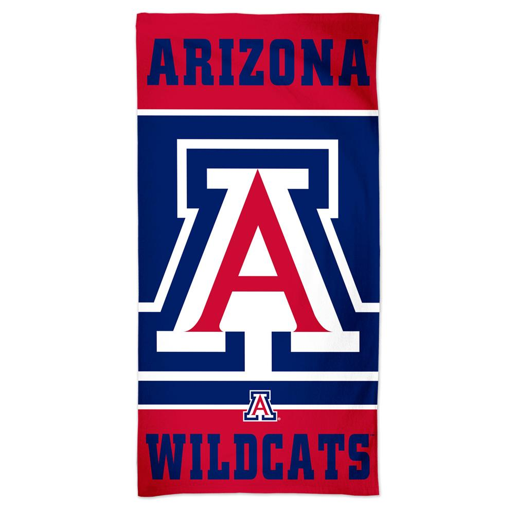 Arizona Wildcats Beach Towel 30 x 60 Spectra Beach Towel