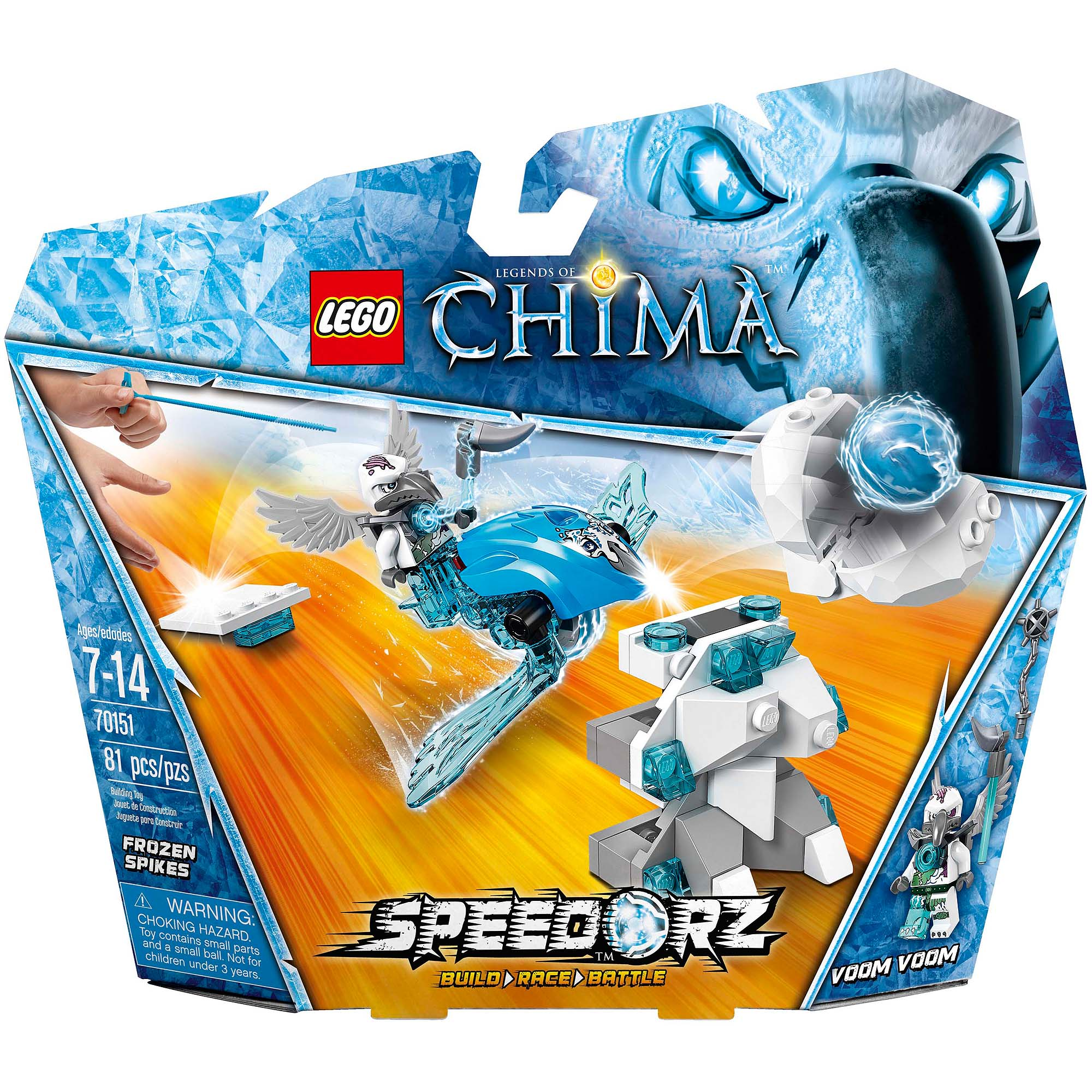 LEGO Chima Frozen Spikes