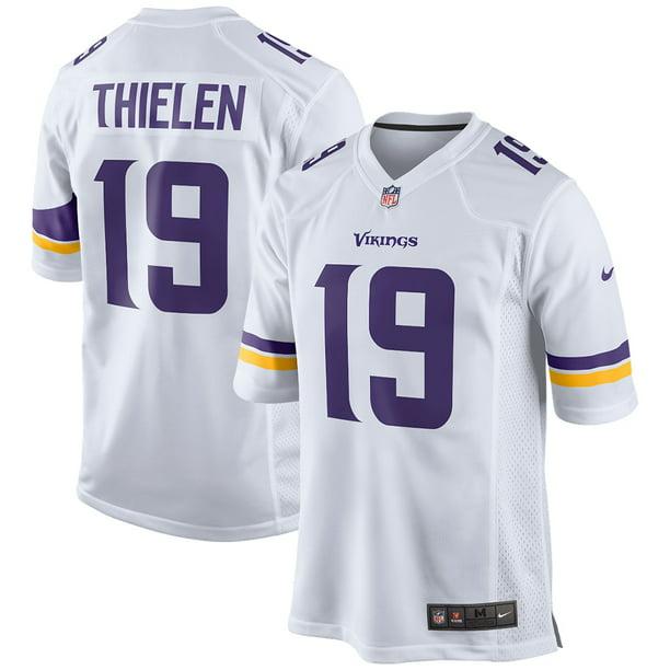 Adam Thielen Minnesota Vikings Nike Game Jersey - White