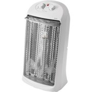 Mainstays Quartz Electric Tower Space Heater, Indoor, White, HQ-2000W