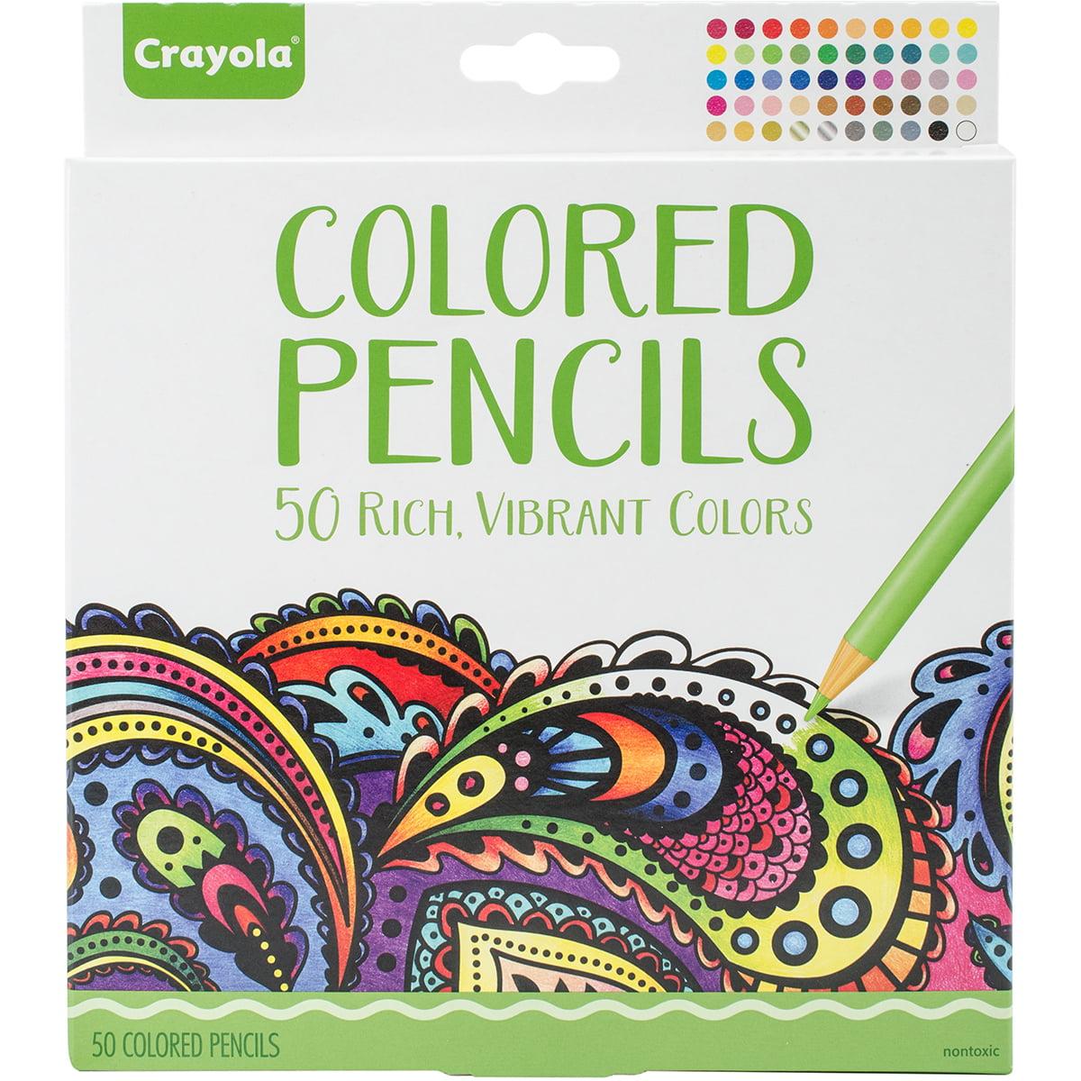 Crayola 50 Count Premium Colored Pencil Set by Crayola