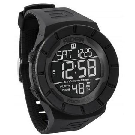 db327e8c3 Rockwell Time - Coliseum Fit Watch, Black/Black - Walmart.com