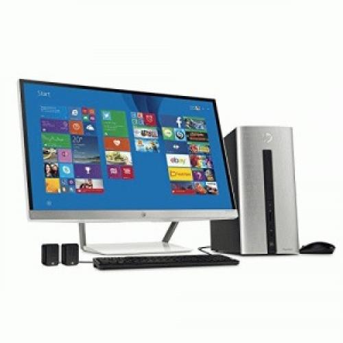 HP Pavilion 550-000 550-077cb Desktop Computer - Intel Core i7 (4th Gen) i7-4790 3.60 GHz - Natural Silver - 12 GB DDR3 SDRAM RAM - 1 TB HDD - DVD-Writer DVD-RAM/ᄆR/ᄆRW - NVIDIA GeFo