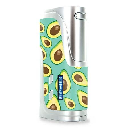Skin Decal Wrap for Wismec Reuleaux RX200 mod sticker vape Seafoam Avocados