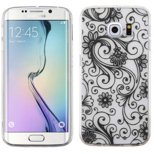 Samsung Galaxy S6 Edge MyBat Candy Skin Cover Four-Leaf Clover