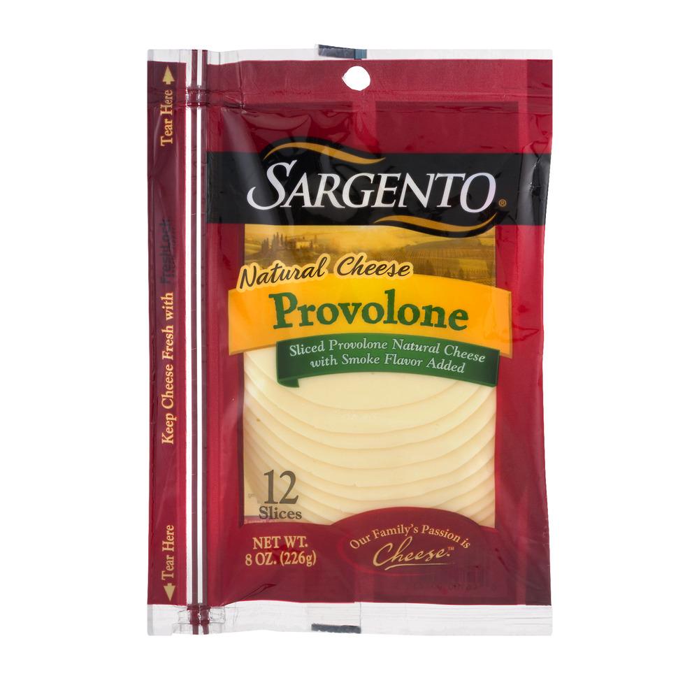 Sargento® Sliced Provolone Cheese - 8 oz, 8.0 OZ