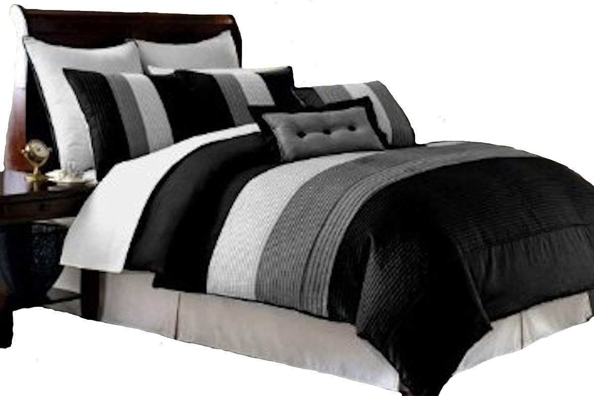 Decor 8 Pieces Black White Grey Luxury