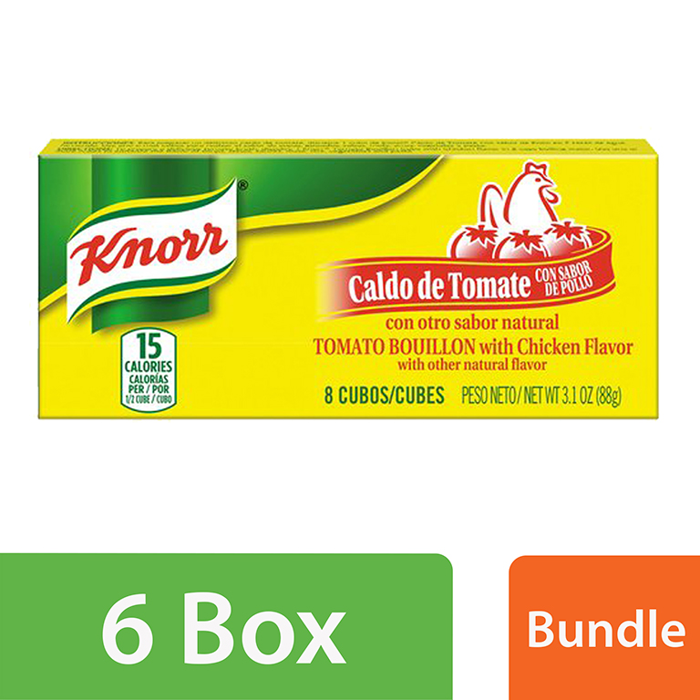 (6 Pack) Knorr Savoury Sauce Tomato Chicken 3.1 oz, 8 ct