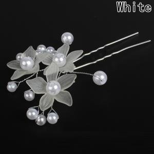 Fancyleo Korean hair accessories frosted flower pearl hairpin bride wedding jewelry handmade headwear Variety style hair accessories