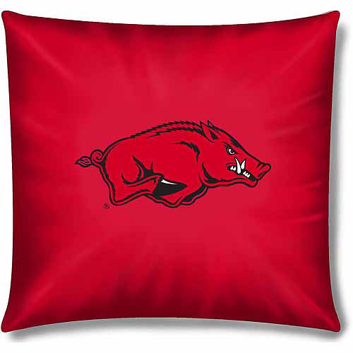 "NCAA Arkansas Razorbacks Official 15"" Toss Pillow"