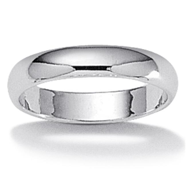 PalmBeach Jewelry 8887_10 Sterling Silver Wedding Band Ring 2. 9 mm Width - Size 10