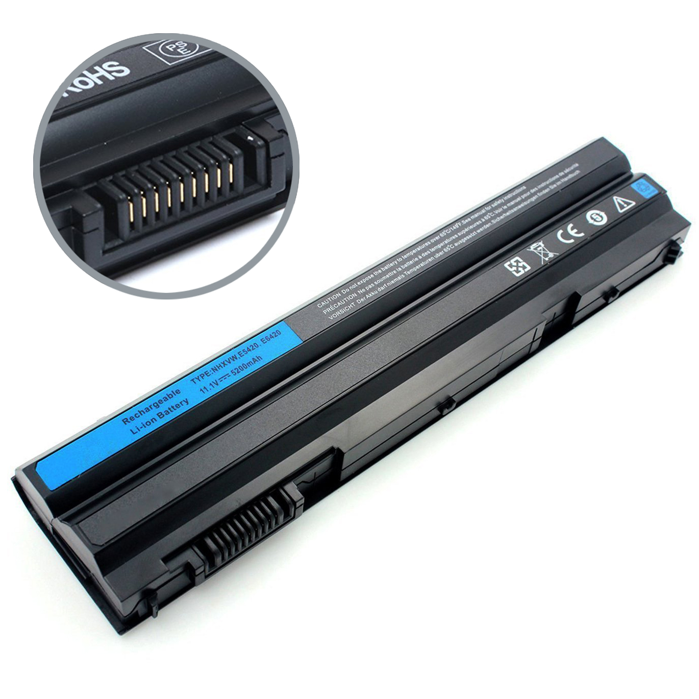 EBK 6Cell 5200mAh Type: T54FJ laptop battery for DELL Inspiron 4420 4520 4720 5420 5425 5520 5525 5720 7420 7520 7720 Series,DELL Inspiron 14R 15R 17R laptop battery