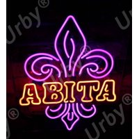 """Urby Brand New 19"""" Abita Beer Neon Sign Acrylic Panel Beer Bar Pub Man Cave Business Glass Neon Lamp Light fa25"""