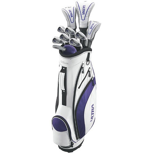 Wilson Ultra Women's Complete Golf Set, Right Handed by
