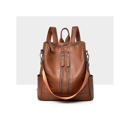 Meigar Women Girls School Leather Backpack Travel Handbag Rucksack Shoulder Bag Tote