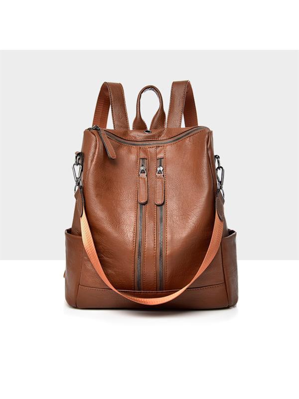 Meigar Women Girls School Leather Backpack Travel Handbag Rucksack Shoulder Bag Tote