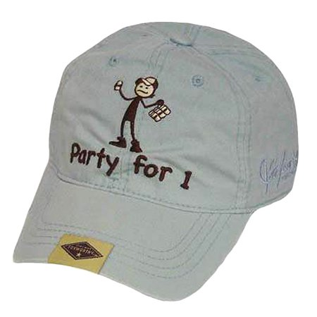 JEFF FOXWORTHY VINTAGE  REDNECK HAT CAP PARTY FOR ONE