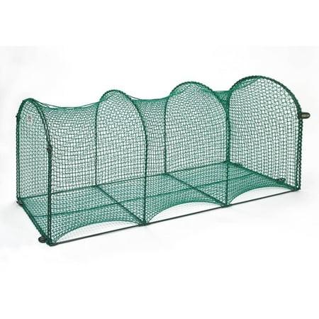 Kittywalk Outdoor Net Cat Enclosure for Decks Patios Balconies ()