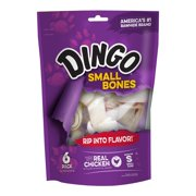 Dingo Small Bones, 6 count