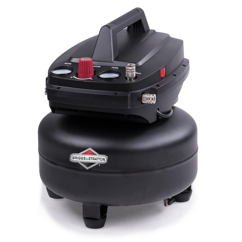 Briggs & Stratton 6 gallon air compressor, 0210642