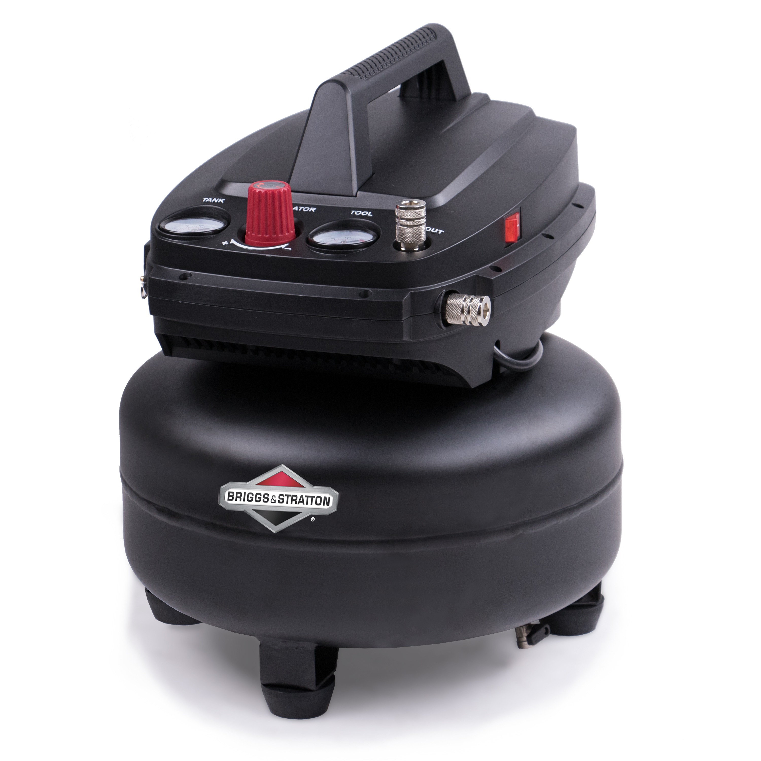 Briggs & Stratton 6 gallon air compressor, 0210642