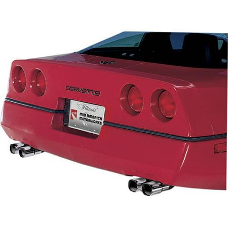 C4 Corvette 1985-1991 ZR1-Style Exhaust Tips Dtm Style Tip