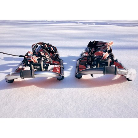 LAMINATED POSTER Outdoor Adventure Snowshoe Sport Winter Poster Print 24 x 36