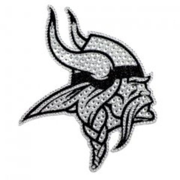 Minnesota Vikings Diamond Bling Auto Emblem - image 2 of 2